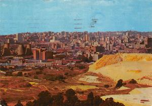South Africa Johannesburg City Skyline and Mine Dumps General view