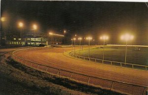 CHARLES TOWN , West Virginia, 1940-60s; Horse Race Track at night