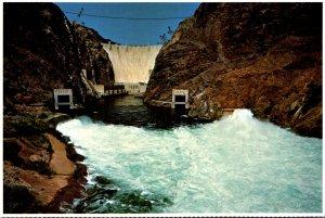 Nevada/Arizona Hoover Dam Turbulent Waters