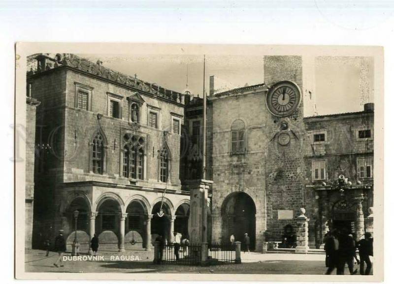 247795 CROATIA Dubrovnik RAGUSA Vintage photo postcard