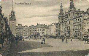 Czech Republic Postcard Pardubice