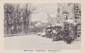 New York Oscawana Winter Scene Valeria Home Albertype