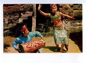 213922 INDONESIA Miss Daju Made Dewi dancer Old photo postcard