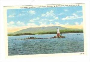 Loon Island LIGHTHOUSE, Lake Sunapee, New Hampshire, 30-40s