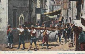 Rue de la Quarantaine Galata , CONSTANTINOPLE , Turkey , 00-10s