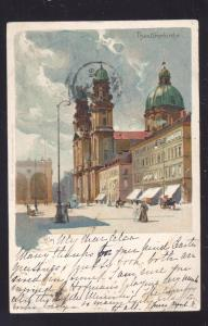 BERLIN GERMANY THEATINERKIRCHE SEESHAUPT GERMANY ANTIQUE VINTAGE POSTCARD
