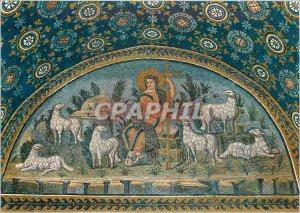 Postcard Modern Ravenna mausoleum of Galia placidia (V s) the good shepherd