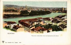 CPA VERONA Panorama della Cittá visto dal Campanile . ITALY (493477)