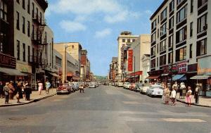 Harrisburg Pennsylvania~Market Street~Murphy's~Colonial~Father & Son~1954 Cars