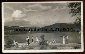 051 - ST. JOVITE Quebec 1965 Lac Maskinonge. Real Photo Postcard