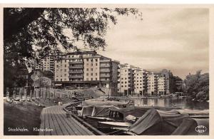 Sweden Stockholm Klaraviken Barnhusviken