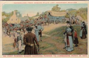 Brandywine Mills Wilmington Delaware Wagon Train Carrying Dupont Powder To Co...