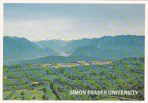 Canada Burnaby Simon Fraser University Aerial View