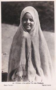RP: MAROC, 1910-30s;  Une Petite fille des Oudayas, Female portrait