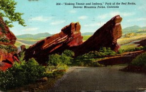 Colorado Denver Mountain Parks Park Of The Red Rocks Sinking Titanic an...