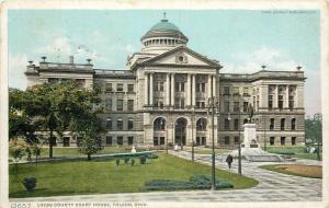 Toledo Ohio~Lucas County Court House~1919 Detroit Publishing Co #12657~Postcard