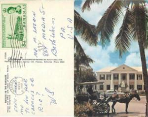 Nassau Post Office, Nassau, Bahamas, 1962 Chrome