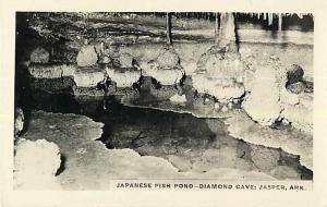 RPPC of Japanese Fish Pond Diamond Cave Jasper Arkansas AR