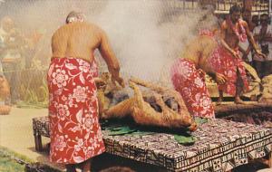 Hawaii Honolulu The Luau Pig