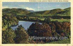 Shenandoah River - Skyline Drive, Virginia