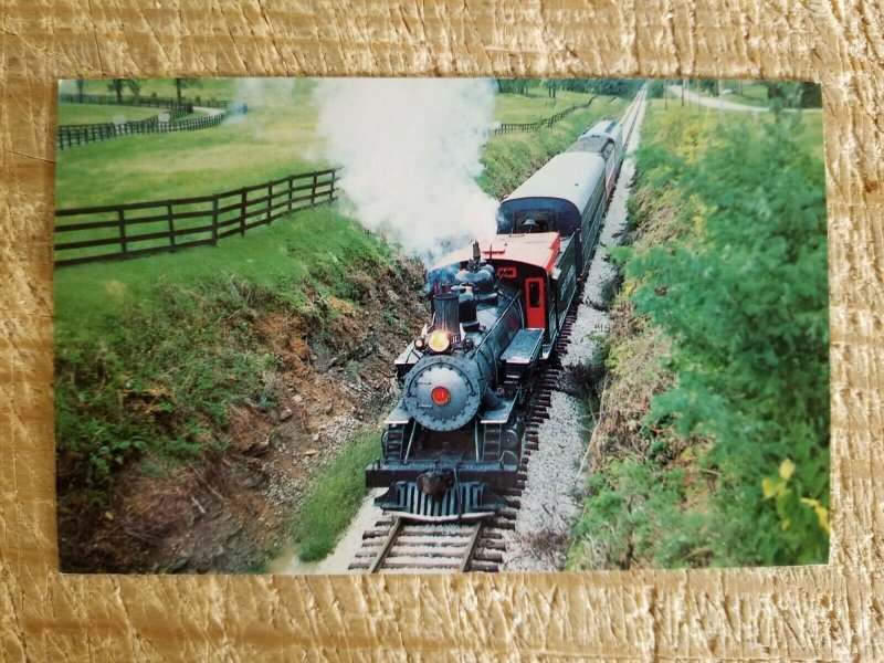 KENTUCKY CENTRAL RAILWAY-THE BLUEGRASS ROUTE NUMBER 11 POSTCARD*P23