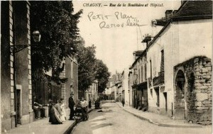 CPA CHAGNY Rue de la Boutlisiere et Hopital (868815)