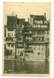 Basel, Switzerland, 00-10s : Alte Hauser am Rhein