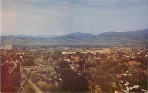 View of Pocatello, Idaho, ID, pre-zip code Chrome