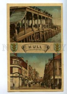 151634 England HULL Victoria Pier & Whitefriargate ADVERTISING