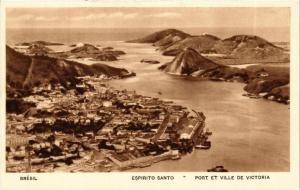 CPA AK Espirito Santo. Port et ville de Victoria. BRAZIL (621796)