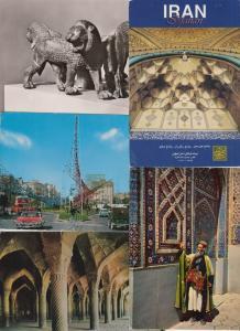 IRAN 58 Cartes Postales Mostly 1960-2000