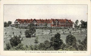 Briarcliff Lodge Briarcliff Manor NY New York Undivided Back Unused Postcard