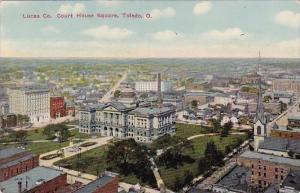 Ohio Toledo Lucas Company Court House Square