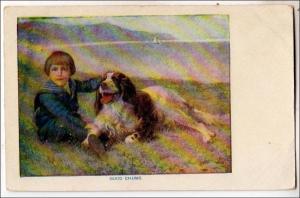 Boy and Dog, Good Chums