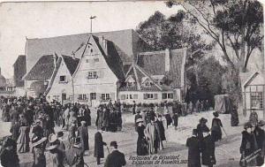 Exposition Universelle Bruxelles 1910 Restaurant de Dusseldorf
