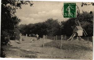 CPA  Berck-Ville - Reingam-Park. Le Moulin (76932)