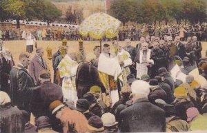 France Lourdes La Benediction des Malades sur L'Esplanade du Rosaire