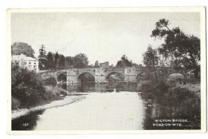 Wilton Bridge, Ross On Wye PPC For Genealogy; Saunders, Northfield Rd, Tetbury