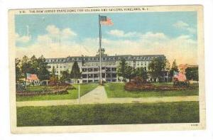 State home for Soldiers & Sailors, VINELAND , New Jersey, PU-1940