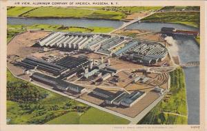 Air View Aluminum Company Of America Massena New York