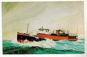M.V.Sprigg Carroll Winter Ferry to Block Island Rhode island
