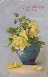 2 ROSE in Vases Postcards , 00-10s