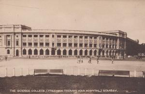 The Science College Freeman Thomas War Hospital Bombay India Postcard
