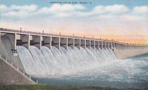 American Falls Dam, Idaho,  30-40s