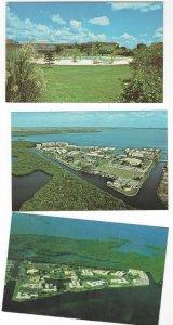 3 VTG postcards of Shell Point Village, Fort Myers, Florida