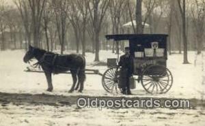 Watkins Remidies, Watkins Stock Tonic Remidies, Real Photo Horse Drawn Advert...