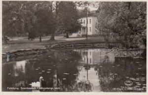 RP: Falkoping , Svandammen i Mossebergs park , Sweden , 30-40s