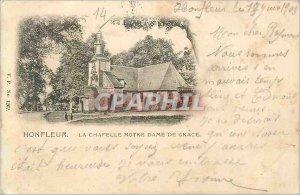 Postcard Old Honfleur La Chapelle Notre Dame de Grace