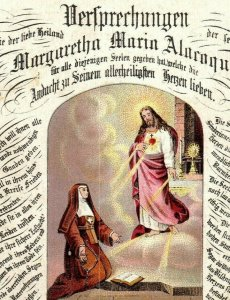 1880s Sendbote Cincinnati Jesus Nun Sacred Heart German P222