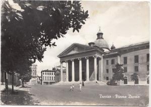Italy, Italia, Treviso, Piazza Duoma, unused Postcard